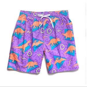 NWT Cubbies Dinosaur men's swim trunks 🦖